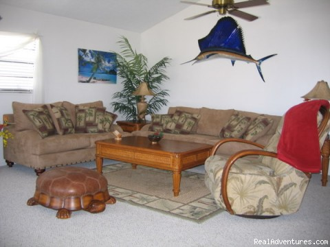 Living Room - Great Room  - Florida Keys Vacation Getaways