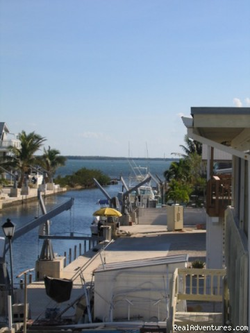View from the Upstairs Deck - Florida Keys Vacation Getaways