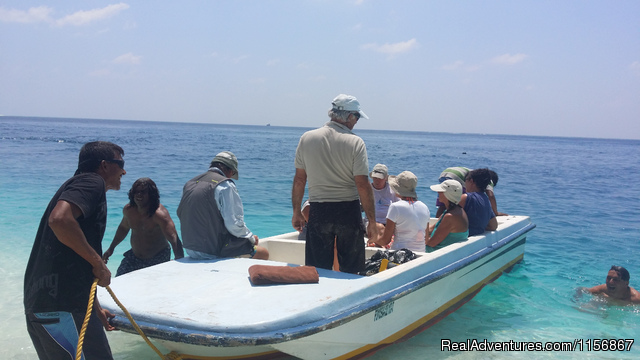 Visit to Hulhidhoo - Oceanic Village at V.Thinadhoo Island