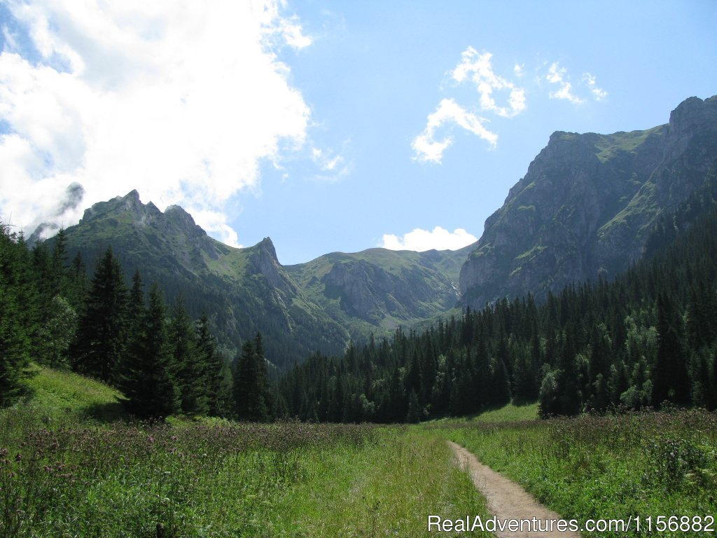 Self-guided tours in Polish Tatra and Pieniny mountains.