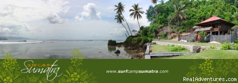 Surf Camps & Charter Boats in Sumatra: Drew's Camp