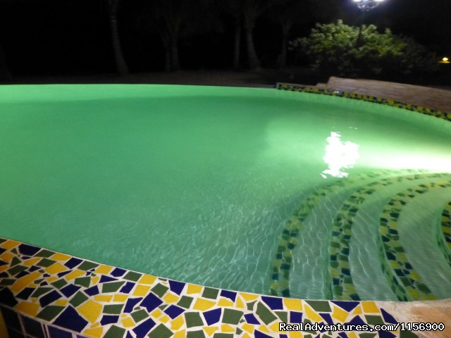 Our infinity pool at night (#10 of 21) - Robert's Grove Beach Resort