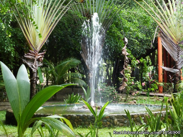 One of our beautiful fountains - Robert's Grove Beach Resort