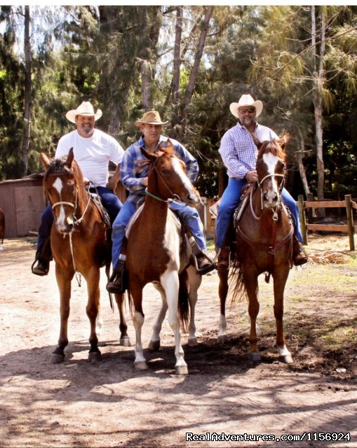 The Three Amigos - The Ultimate Horseback Riding Adventure