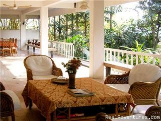 Terrace - Holiday getaways along Ping river, Chiang Mai