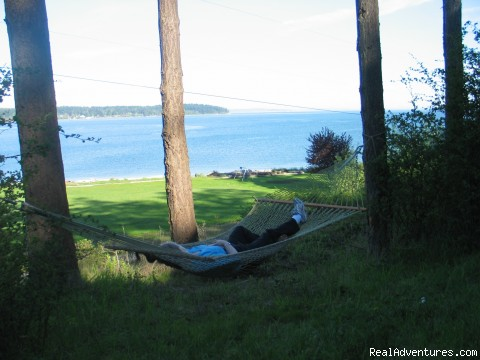 Hammocks - Olympic Peninsula's Oak Bay Getaway