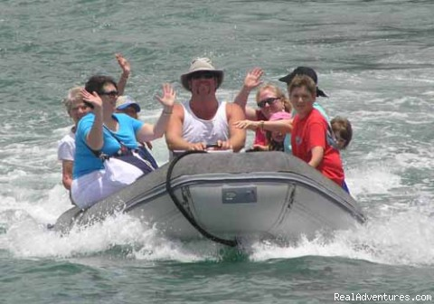 Charter guests arriving for fun! (#2 of 3) - Personalized, customized Virgin Island charters