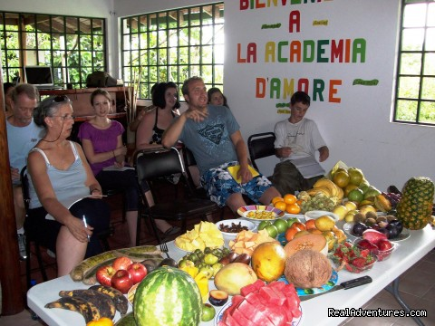 Fruit Class - Study Spanish in Manuel Antonio, Costa Rica