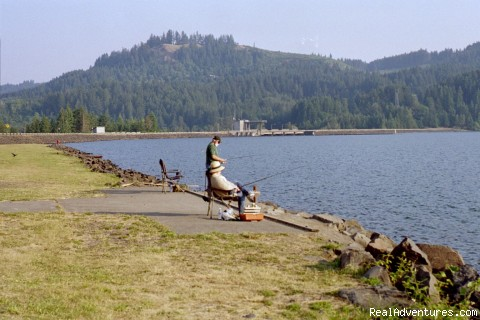 Great Fishing - Edgewater RV Resort and Marina at Foster Lake