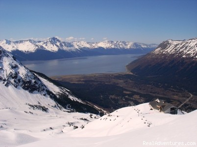 View from the top of Alyeska - Snowbird Chalet 1 at Alyeska