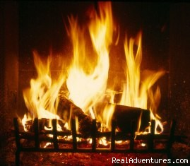 Log fire (#4 of 8) - Ski and snowboard chalet accomodation in Bansko