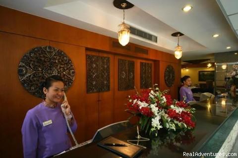 Receptionist - New World City Hotel