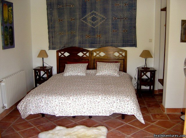 Casa Abuela kingsize bedroom | Image #2/9 | Self-catering Vacation Ronda Andalucia Spain