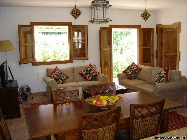 Casa Abuela dining area | Image #3/9 | Self-catering Vacation Ronda Andalucia Spain