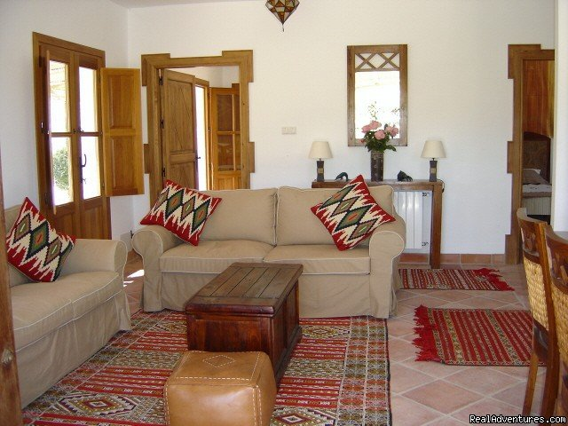 Casa Abuela sitting room | Image #4/9 | Self-catering Vacation Ronda Andalucia Spain