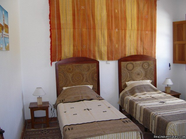 Casa Abuela twin bedroom | Image #5/9 | Self-catering Vacation Ronda Andalucia Spain