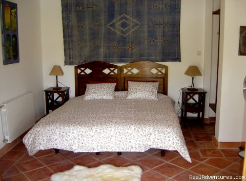 Casa Abuela kingsize bedroom - Self-catering Vacation Ronda Andalucia Spain