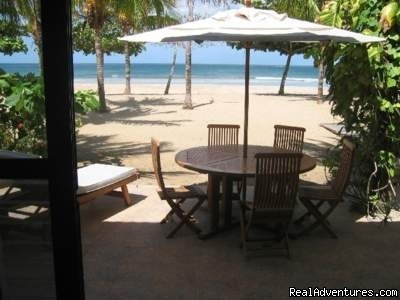 Oceanfront Playa Grande Vacation Rental Costa Rica Oceanfront  Vacation Rental View from Deck