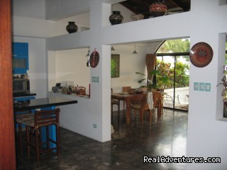 Oceanfront  Vacation Rental living areas - Oceanfront Playa Grande Vacation Rental Costa Rica