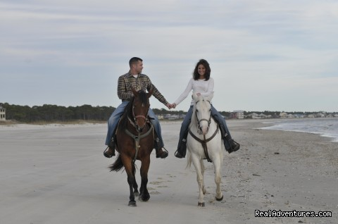 Image #2 of 5 - Two-bit Stable Horseback Riding on the Beach