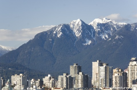 Amazing Views of Vancouver-Furnished Rental: View from Roofdeck