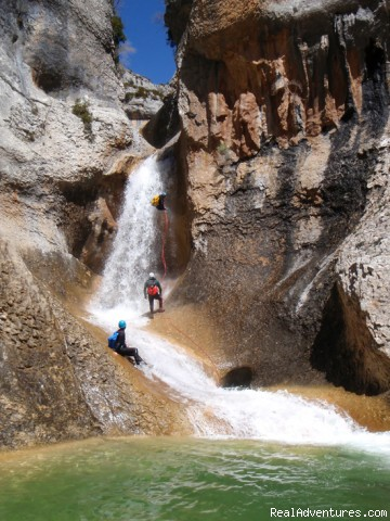 Canyoning and adventure in Sierra de Guara - Spain