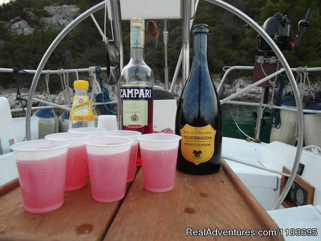 - Day sail trip St.Lucia with spaghetti lunch