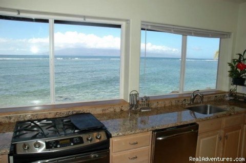 Ocean Views - Ocean Front Lahaina Sunset Home!