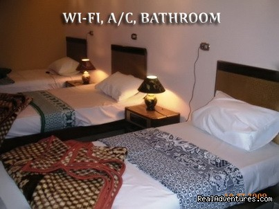 triple room - BEDOUIN HOTEL in the heart of downtown