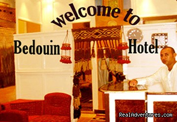 reception - BEDOUIN HOTEL in the heart of downtown