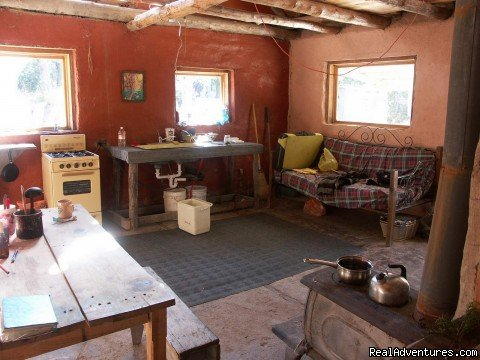 Bunkhouse kitchen | Image #4/16 | Remote Conservation Ranch By Copper Canyon Region