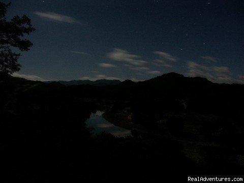 View of Landscape at night | Image #15/16 | Remote Conservation Ranch By Copper Canyon Region