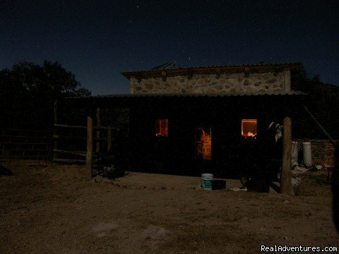Cowboy kitchen at night | Image #16/16 | Remote Conservation Ranch By Copper Canyon Region