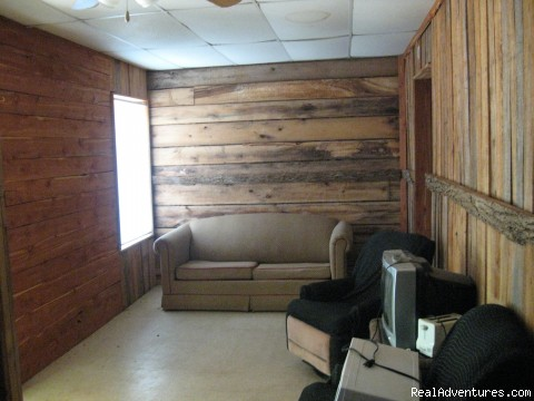 living room - 20x24 Rustic cabin on lake hartwell SC