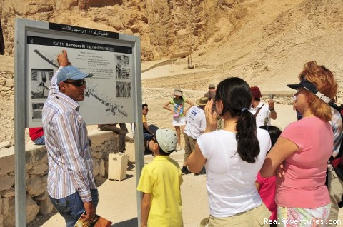 Valley of the Kings - Eye of Horus Tours, Guides and Tours