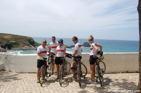 The Ocean view, at the end of the tour - Cycle the World Heritage Grand Tour - Luxury Tour