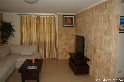 Living room - Condo in El Cangrejo, Panama
