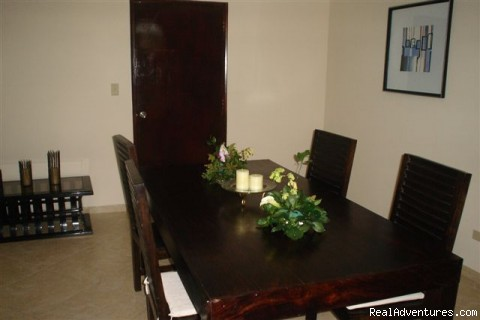 Dining room - Condo in El Cangrejo, Panama