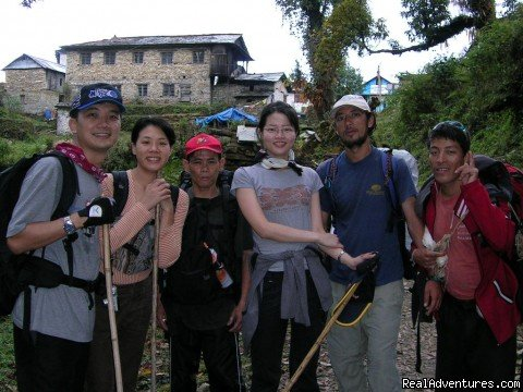 The Group from Asia exploring Poonhill Treks | Image #3/11 | Nepal Trekking company offer Trekking,Tour,