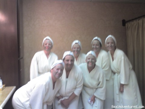 More pampering spa fun!! -  Women's Retreat Maui Hawaii Nov 10 thru Nov 16