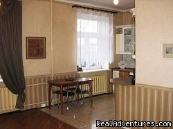 Living-room - Kitchen - 2-Room High-Standard Apartment for 50eur/day