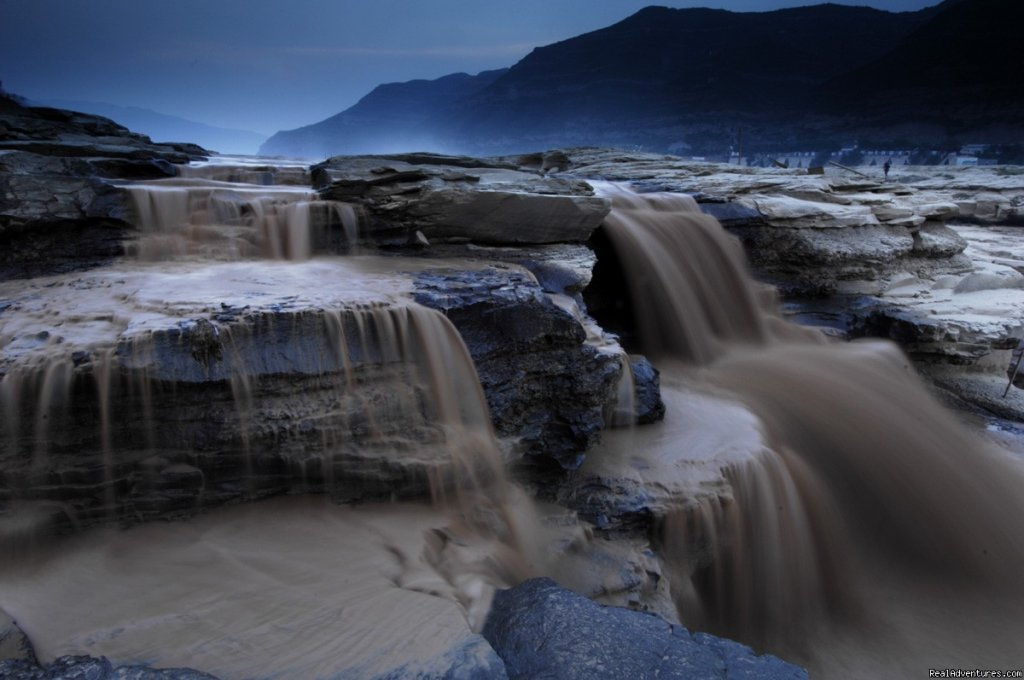 Hu Kou Falls, Yellow River, Shaanxi Province | Image #22/22 | Great Driving Journeys of the World