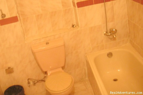 The Bathroom - ( Each Way Hostel ) hostel hotel in Cairo Egypt