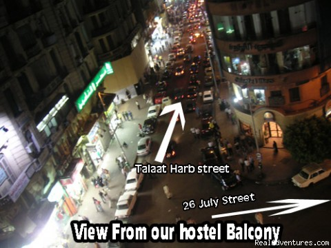 The View - ( Each Way Hostel ) hostel hotel in Cairo Egypt