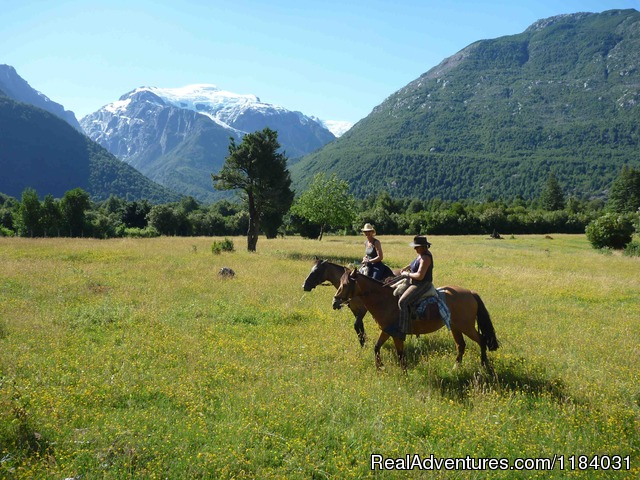 Cathy Berard and Tito Cuevas - Riding and Trekking in Chilean Patagonia
