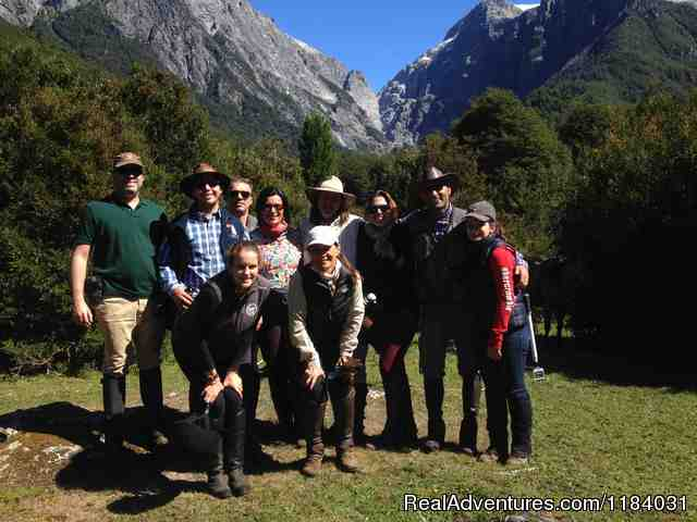 Happy clients - Riding and Trekking in Chilean Patagonia