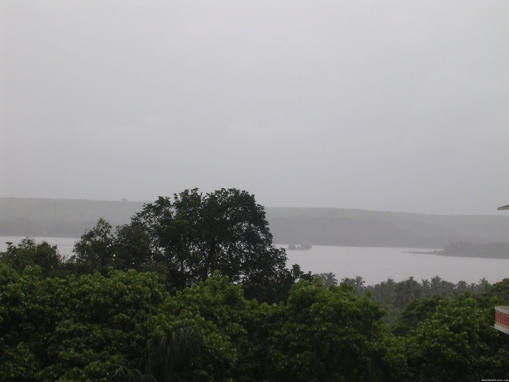 Lake View from Terrace | Image #2/3 | Goan Clove, The Self Catering  Apartment