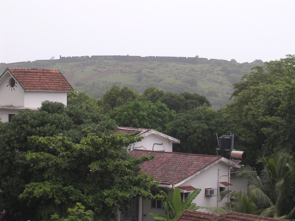 The great View of Historical Chapora Fort from Window | Image #3/3 | Goan Clove, The Self Catering  Apartment