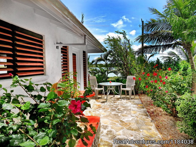 Private stone patios - Vacation Villas with BONEFISHING and DIVING