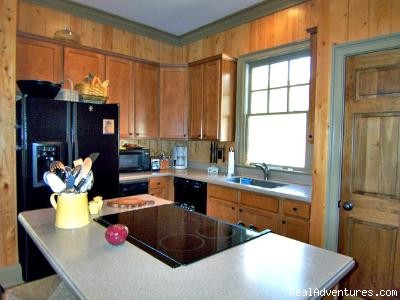 Fully Stocked Kitchen in Mountain Vista - Mountain Vista Home Rental in Big Canoe Resort